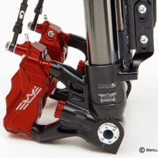 RR108 caliper red