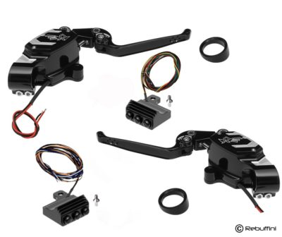set sr45 hand controls harley