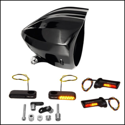HEADLIGHTS, INDICATORS, ELECTRICAL COMPONENTS
