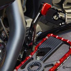 lever wheelie RED
